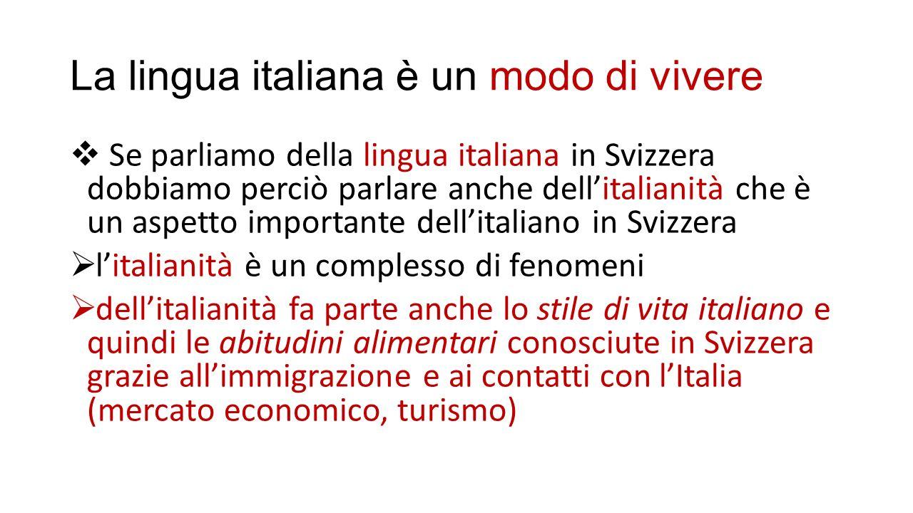 Italienische Einwanderung in der Schweiz  Die Schweiz ist (nach Argentinien und Deutschland) das 3.