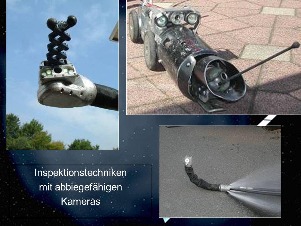 18 Inspektionstechniken mit abbiegefähigen Kameras