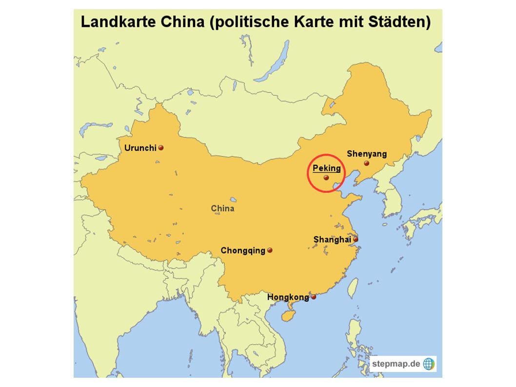 Gliederung ● Vokabular ● traditionelle chinesische Stadt ● Überformung ● moderne chinesische Stadt ● Gegenüberstellung - Merkmale ● Folgen aktuelle Entwicklungen ● Politik als Grund der Entwicklung ● Quellen