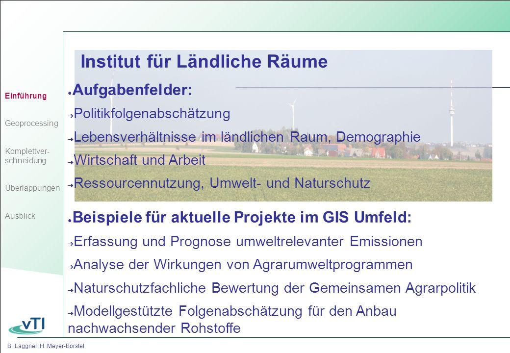 B.Laggner, H. Meyer-Borstel Komplettverschneidung Unsere Standardanwendung A E D C B...