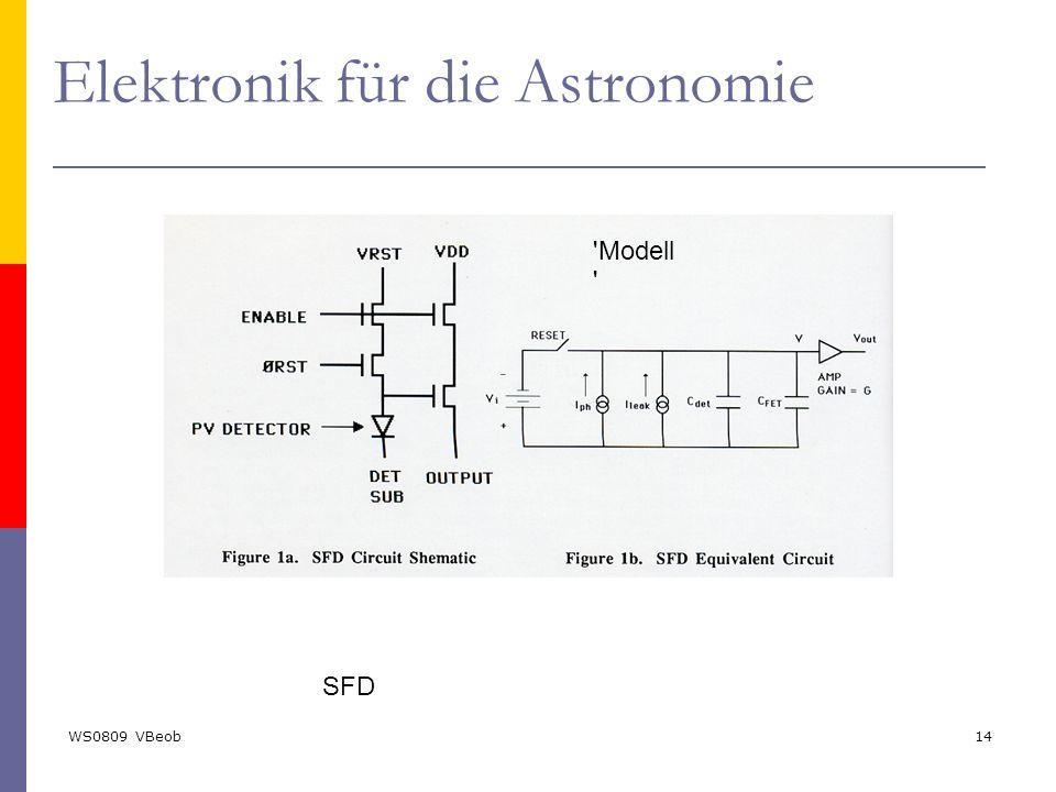 WS0809 VBeob14 SFD Elektronik für die Astronomie 'Modell '