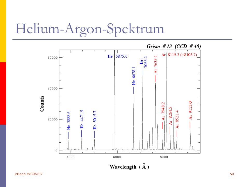 VBeob WS06/0750 Helium-Argon-Spektrum