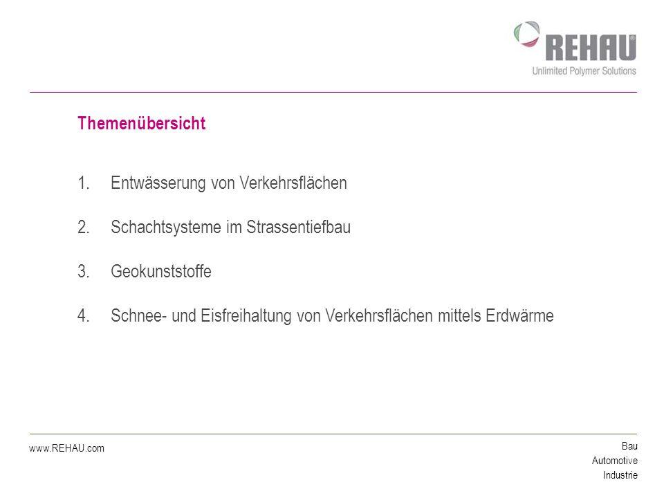 Bau Automotive Industrie www.REHAU.com 1.