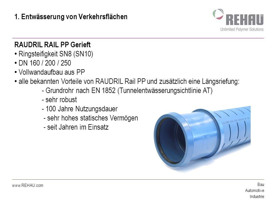 Bau Automotive Industrie www.REHAU.com 2.