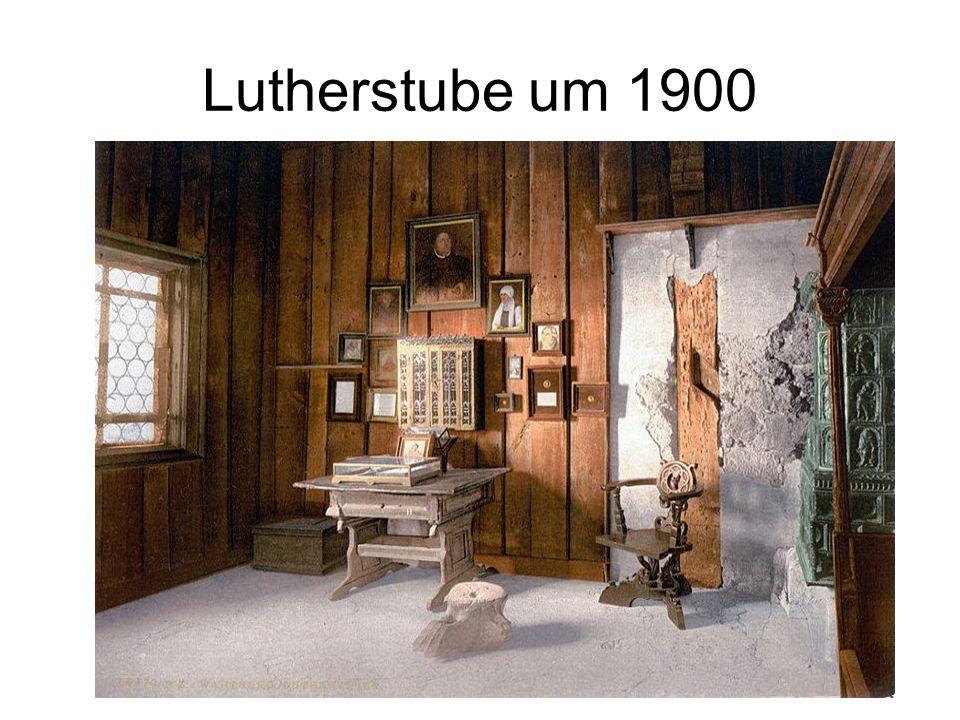 Lutherstube um 1900