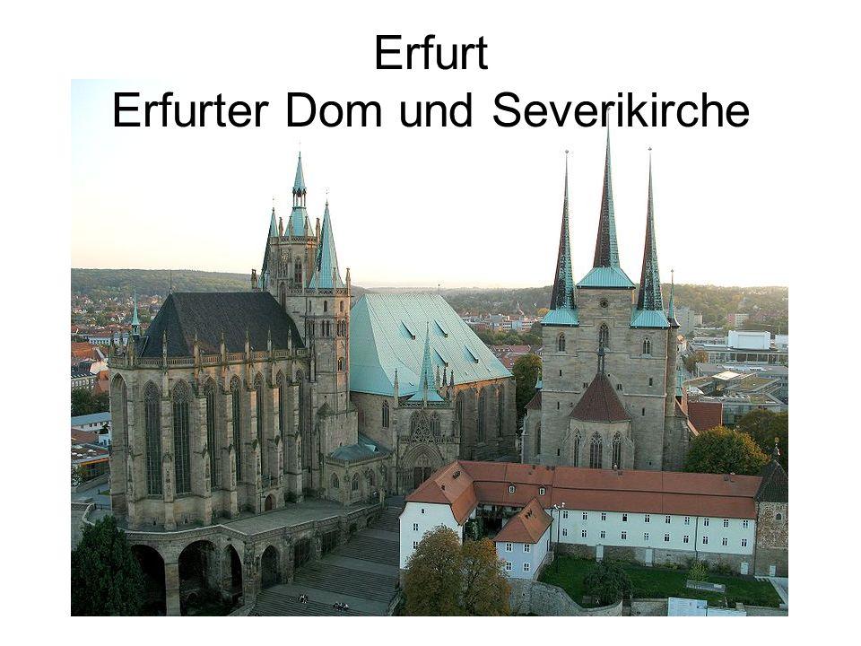 Erfurt Erfurter Dom und Severikirche