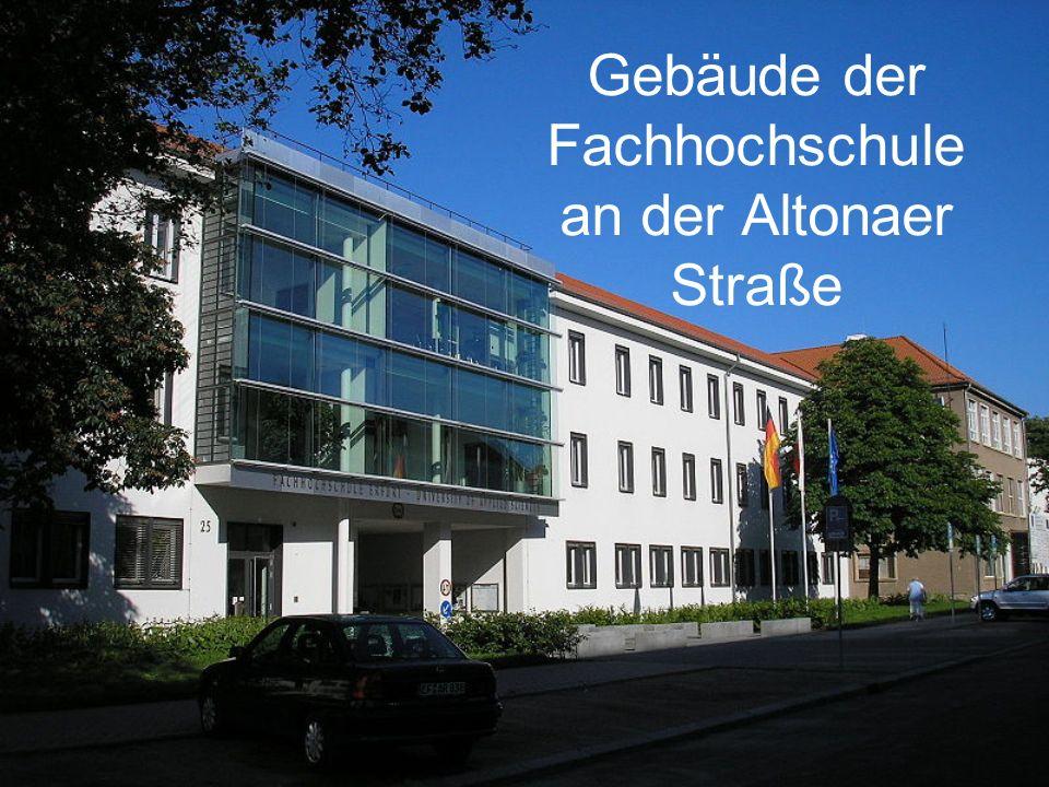 Gebäude der Fachhochschule an der Altonaer Straße