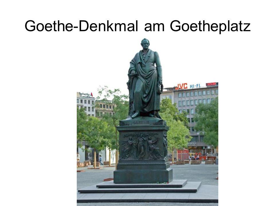 Goethe-Denkmal am Goetheplatz