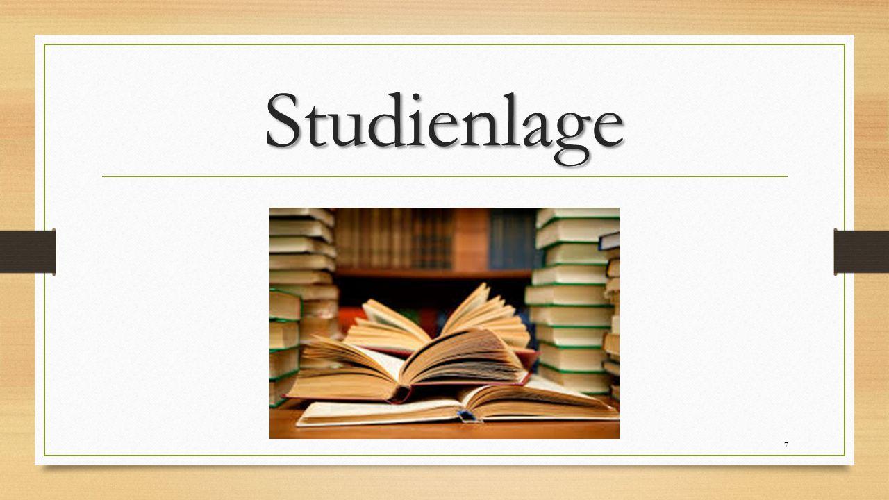 Studienlage 7
