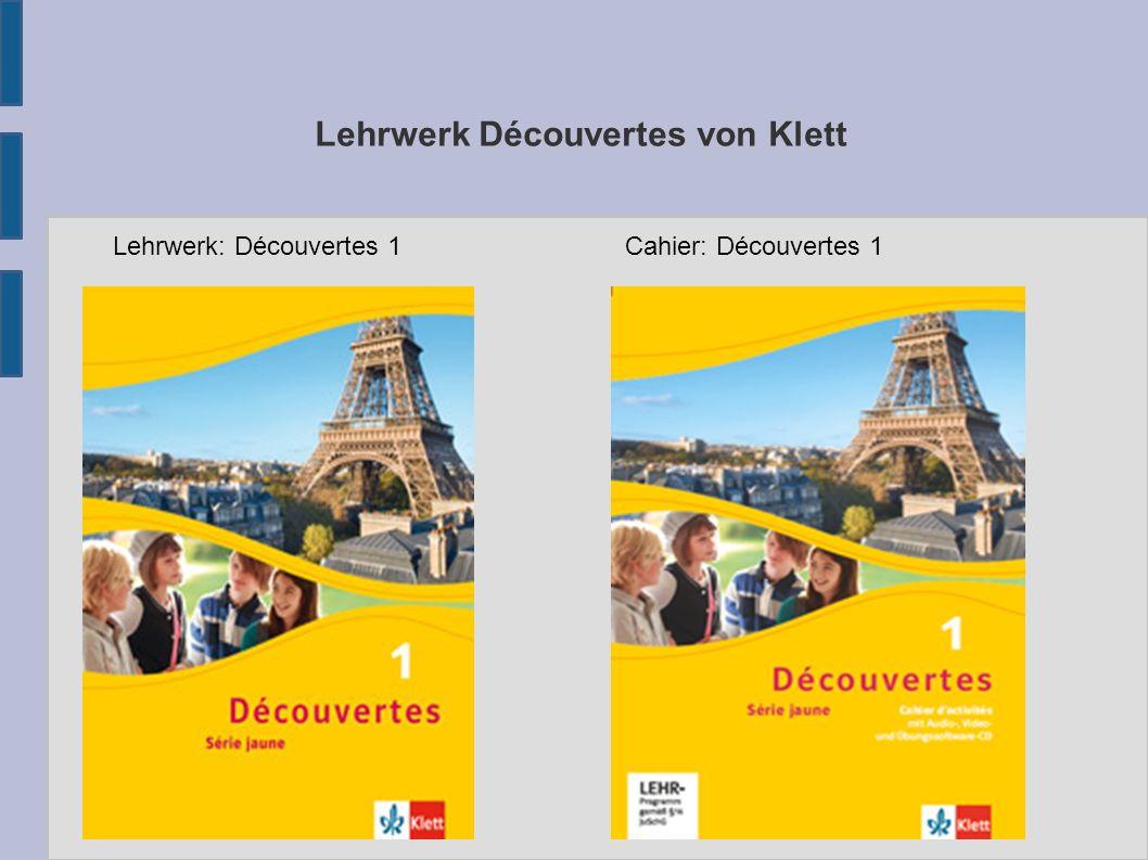 Lehrwerk Découvertes von Klett Lehrwerk: Découvertes 1Cahier: Découvertes 1