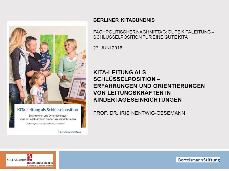 Leitungsprofessionalität in Spannungsfeldern Gruppendiskussion Niedersachsen Ff: Buchführung.