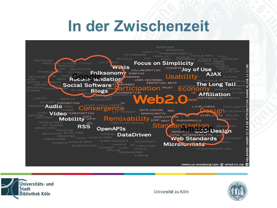 Universität zu Köln In der Zwischenzeit Amazon Google