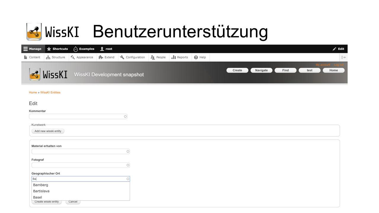 Benutzerunterstützung