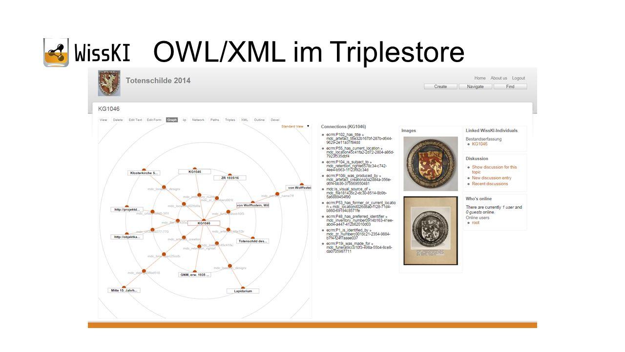OWL/XML im Triplestore