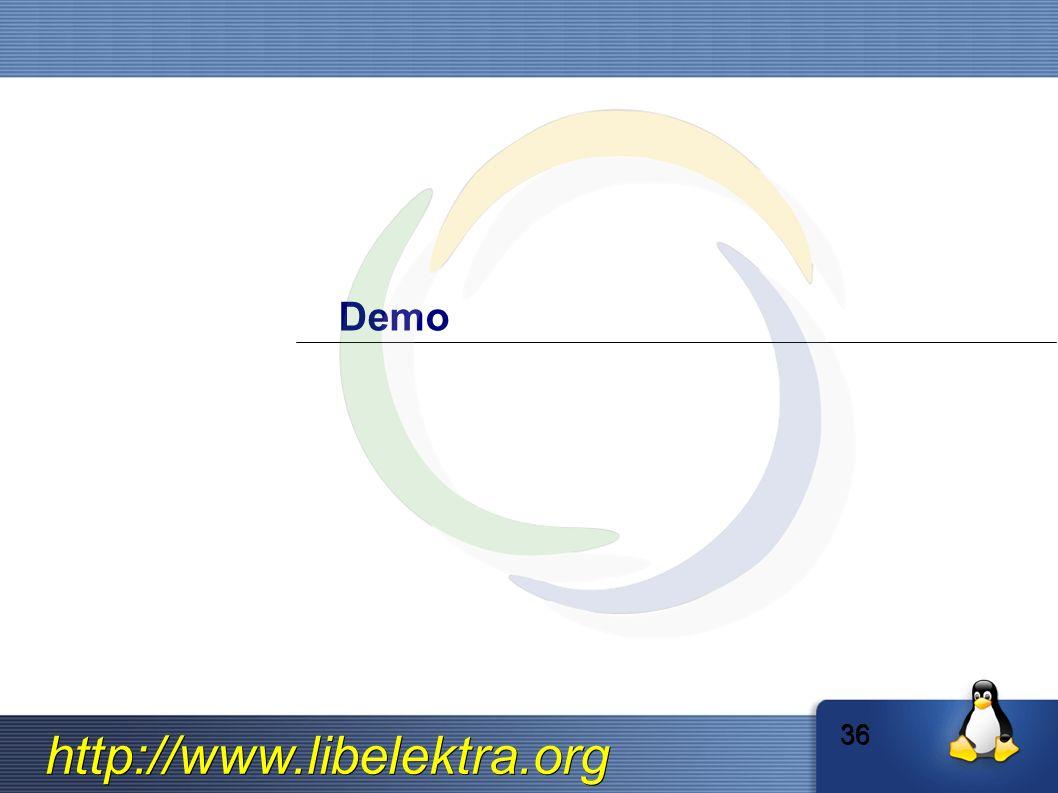 http://www.libelektra.org Demo 36