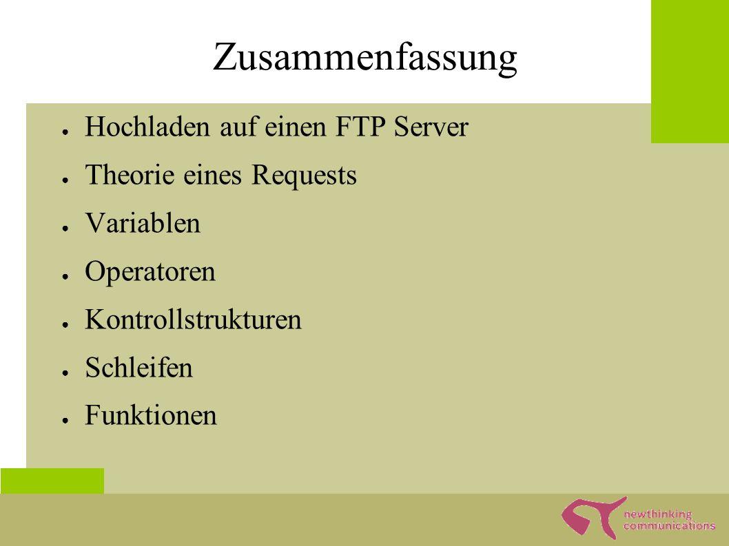 PHP in HTML ; ?> Meine erste PHP-Seite <?php echo Hallo Welt ; ?>
