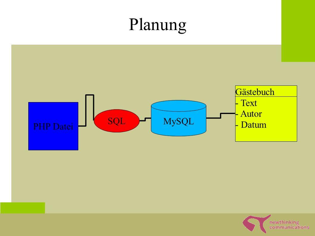 """Tabelle mit PHPMyAdmin ● PHPMyAdmin ist """"das Verwaltungsprogramm für MySQL ● Man kann: – Einstellungen anschauen und verändern – Benutzerverwalten – Tabellen anlegen und verwalten – Daten einsehen und verändern –..."""