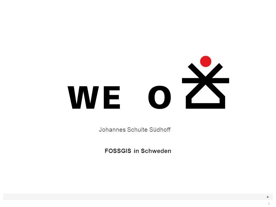 ► 1 FOSSGIS in Schweden Johannes Schulte Südhoff