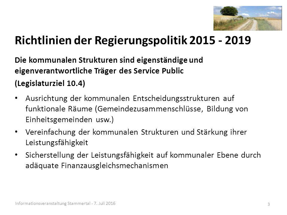 Kantonale Ziele Informationsveranstaltung Stammertal - 7.