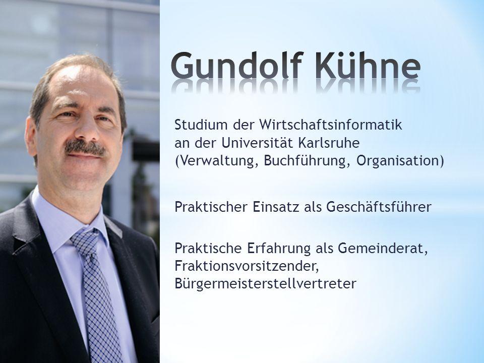 Studium der Wirtschaftsinformatik an der Universität Karlsruhe (Verwaltung, Buchführung, Organisation) Praktischer Einsatz als Geschäftsführer Praktis