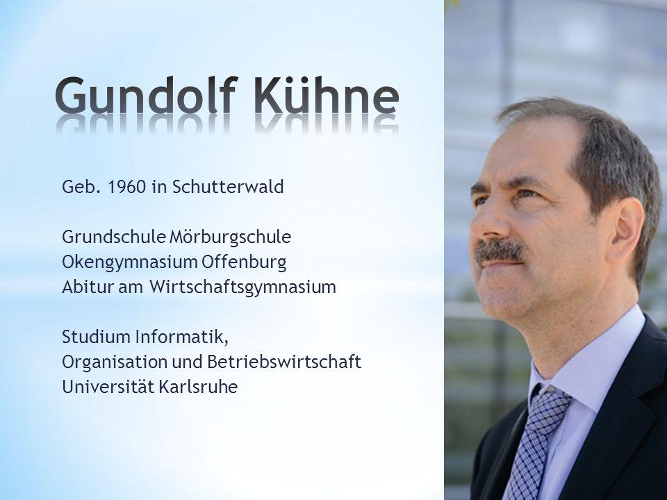 Nach Zivildienst am Klinikum Offenburg selbständig als IT-Spezialist 1994 Gründung der Firma TopCom 2004 Geschäftsführer TopCom GmbH & Co.KG zusätzlich Herstellung und Redaktion Amtsblatt Schutterwald