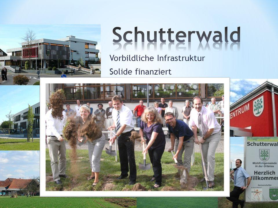 Vorbildliche Infrastruktur Solide finanziert