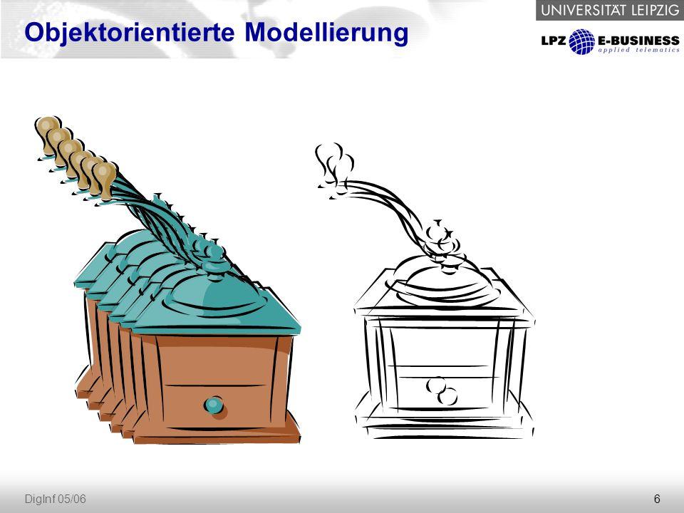 6 DigInf 05/06 Objektorientierte Modellierung