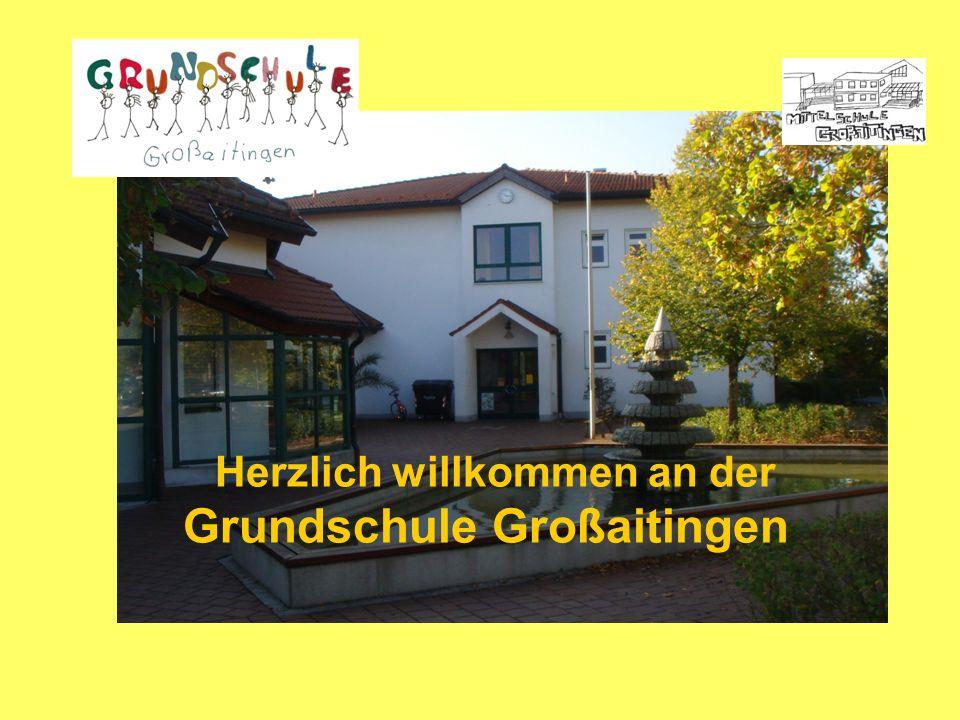 Besonderheiten der Grundschule Großaitingen: -relativ klein und familiär (ca.