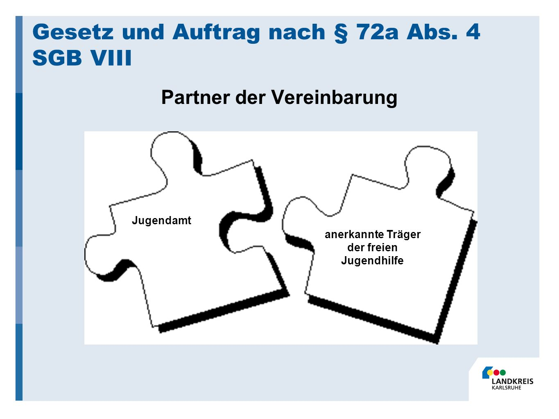 Gesetz und Auftrag nach § 72a Abs.