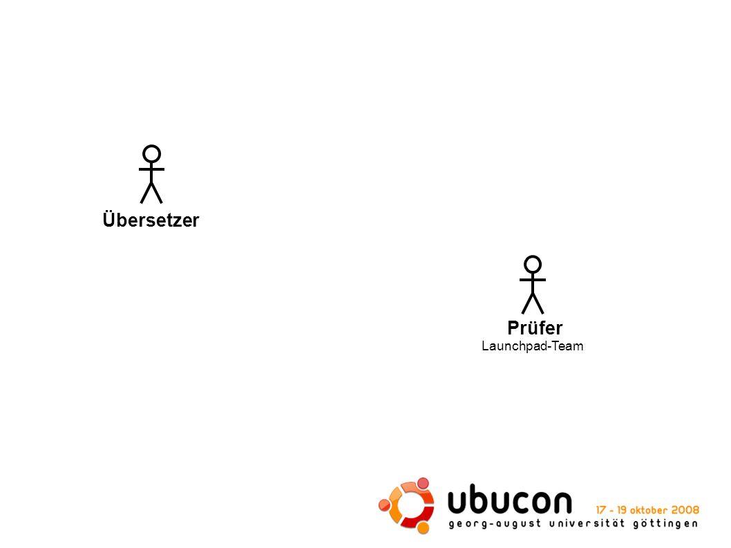 Prüfer Launchpad-Team Übersetzer