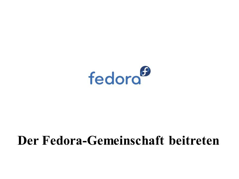 Der Fedora-Gemeinschaft beitreten