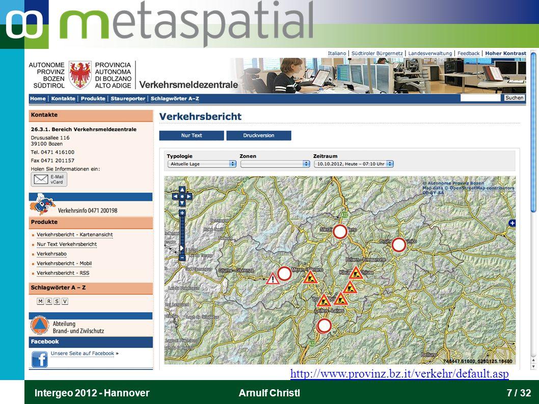 Intergeo 2012 - HannoverArnulf Christl28 / 32