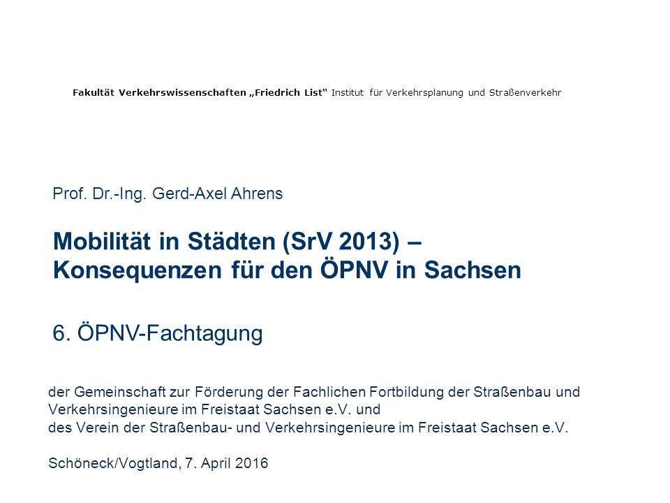 der Gemeinschaft zur Förderung der Fachlichen Fortbildung der Straßenbau und Verkehrsingenieure im Freistaat Sachsen e.V.