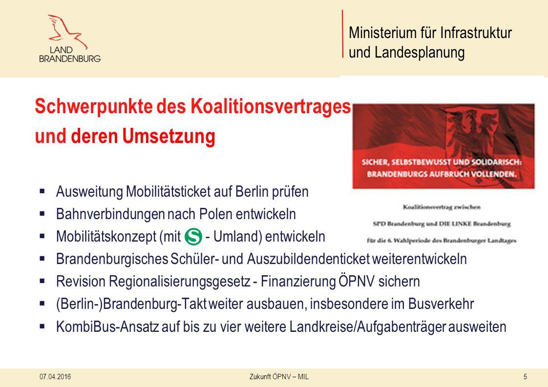 16 Unser Konzept: Berlin-Brandenburg-Takt 07.04.2016Zukunft ÖPNV – MIL