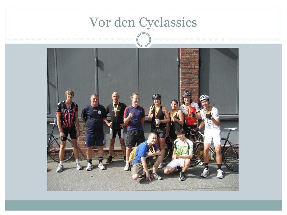 Vor den Cyclassics