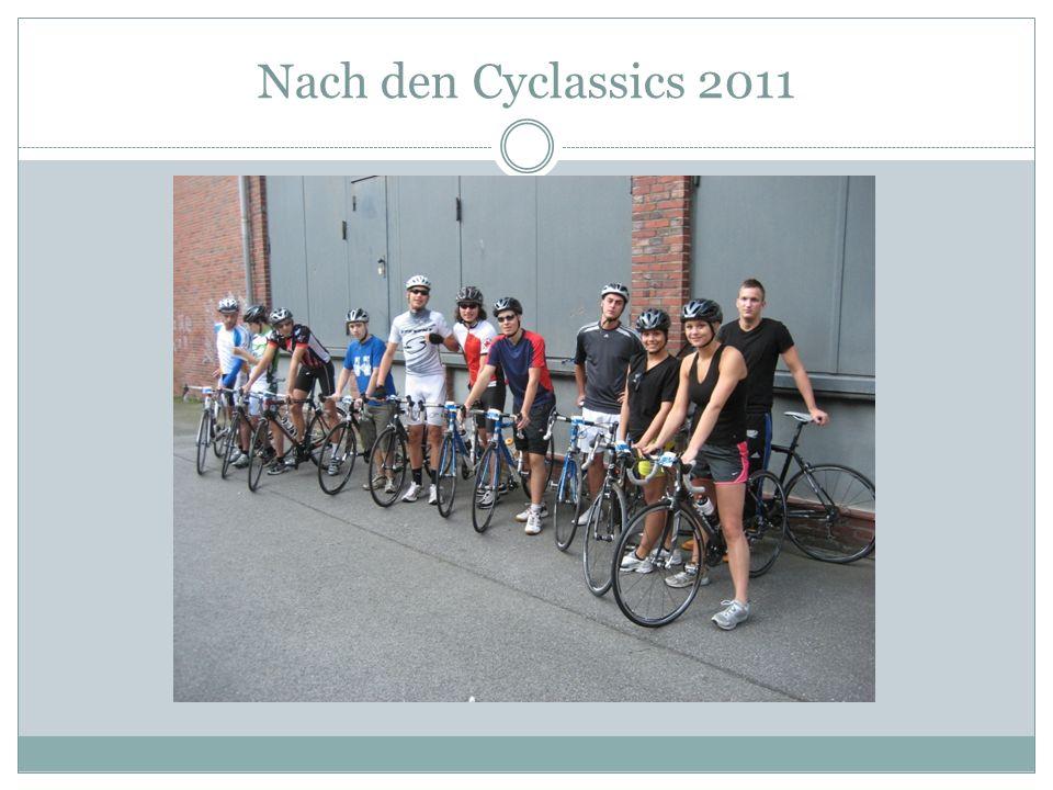Nach den Cyclassics 2011
