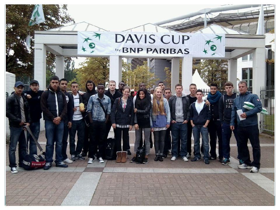 Beim Davis-Cup 2012