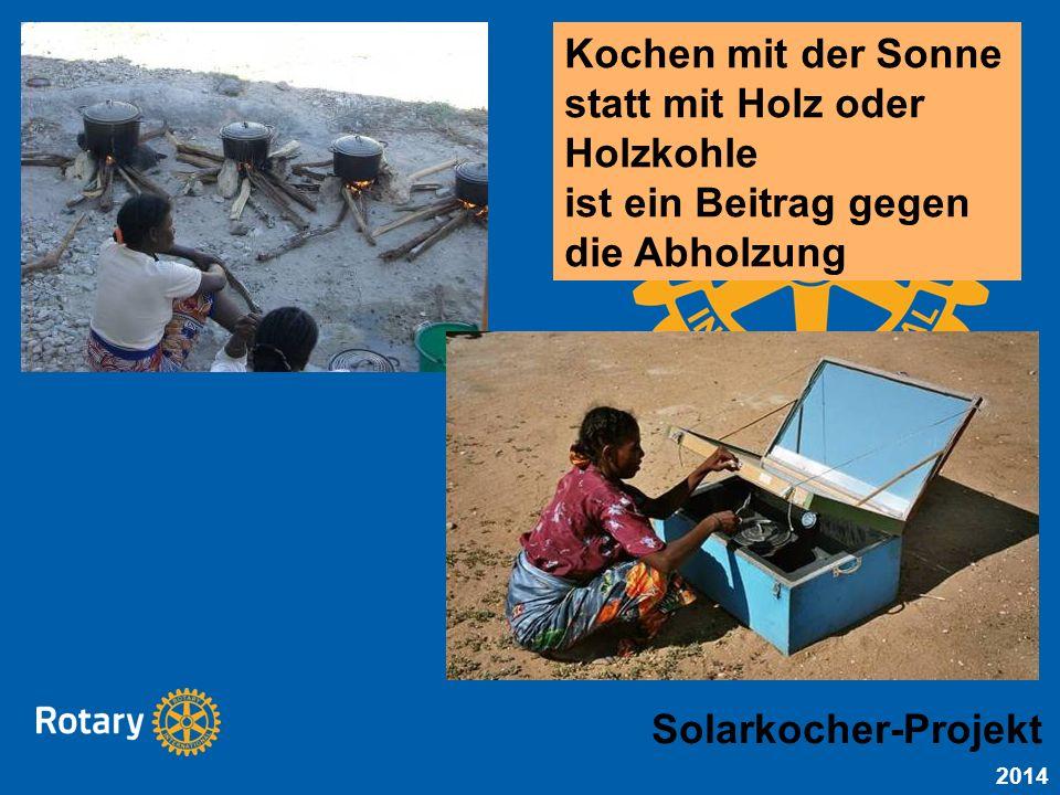 Kochen mit der Sonne statt mit Holz oder Holzkohle ist ein Beitrag gegen die Abholzung Solarkocher-Projekt