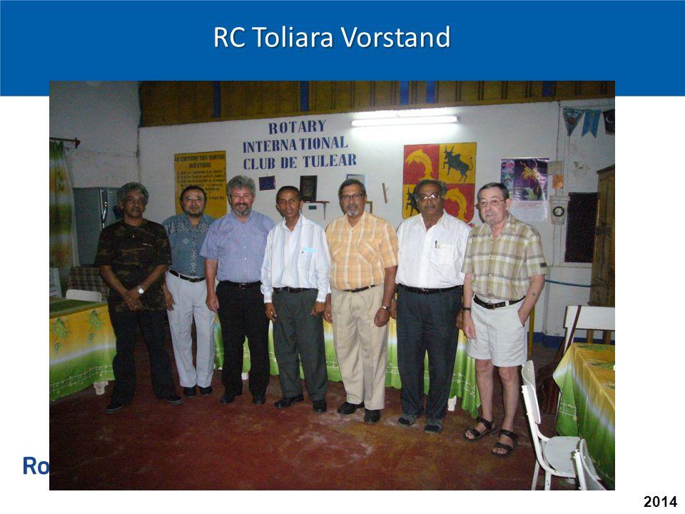 2014 RC Toliara Vorstand