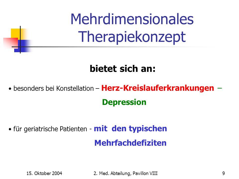 15. Oktober 20042. Med. Abteilung, Pavillon VIII40