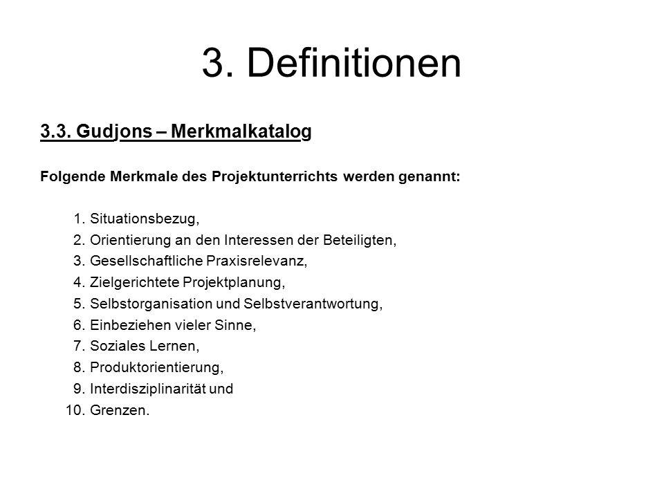 3. Definitionen 3.3.