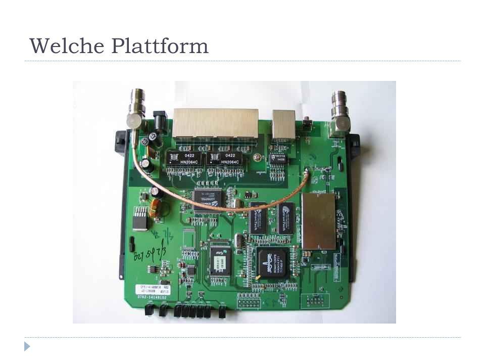 Welche Plattform