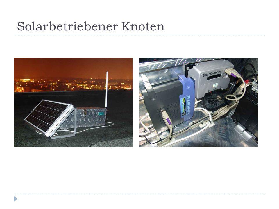 Solarbetriebener Knoten