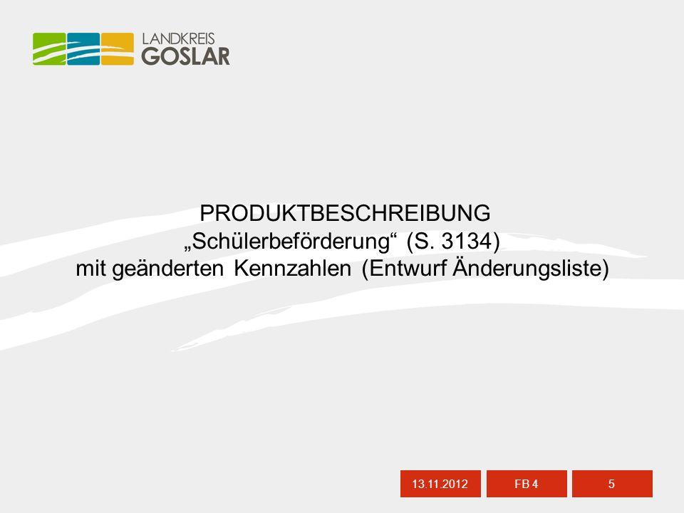 """13.11.20125 FB 4 PRODUKTBESCHREIBUNG """"Schülerbeförderung (S."""