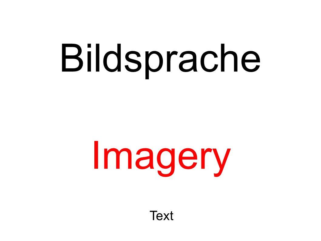 Bildsprache Imagery Text
