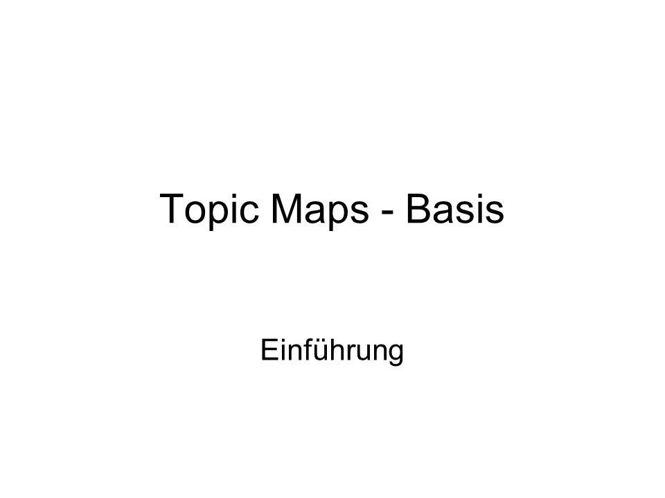 Topic Maps - Basis Einführung