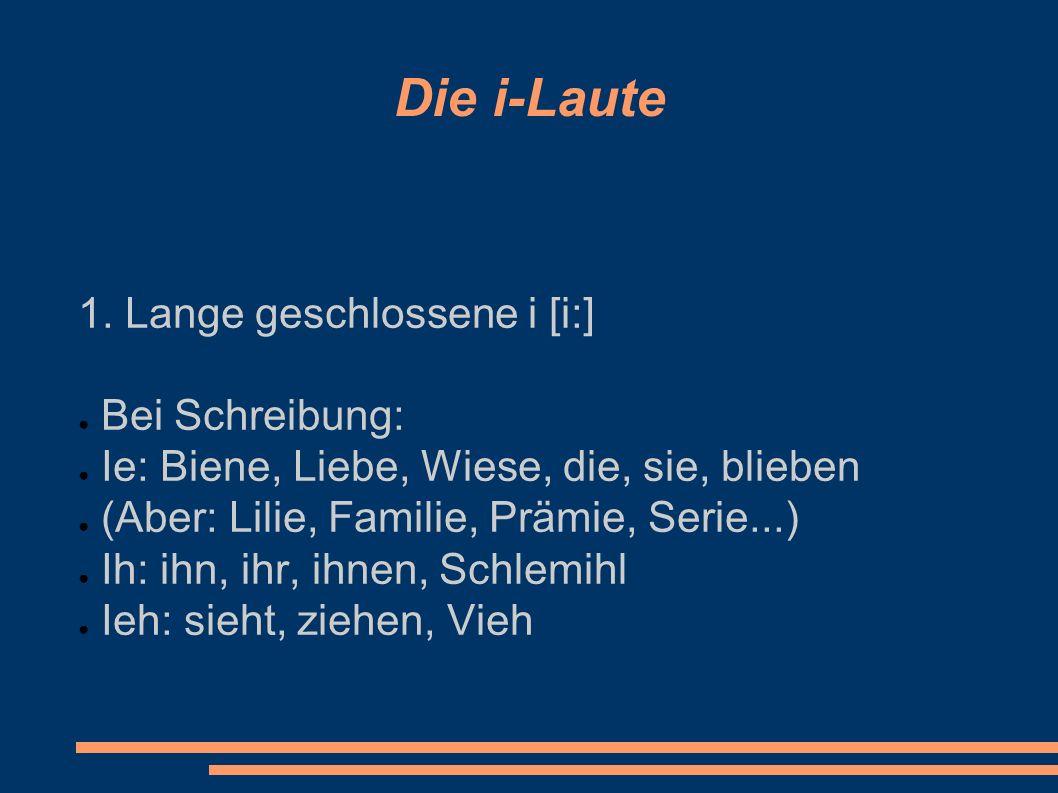 Die Affrikate [ t ∫] Die Affrikate [ t ∫] wird gesprochen bei Schreibung: ● Tsch: deutsch, Deutschland, Matsch, Tschechien, Peitsche, Kutsche, tschüs