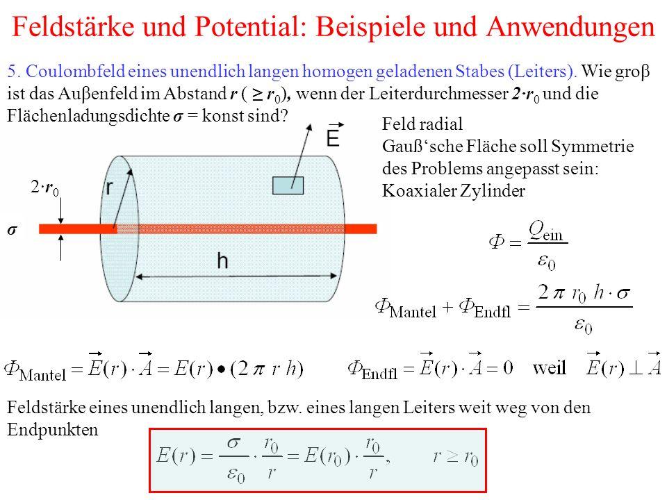 Feldstärke und Potential: Beispiele und Anwendungen 5.