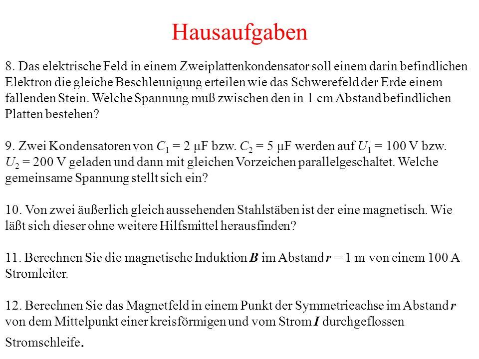 Hausaufgaben 8.