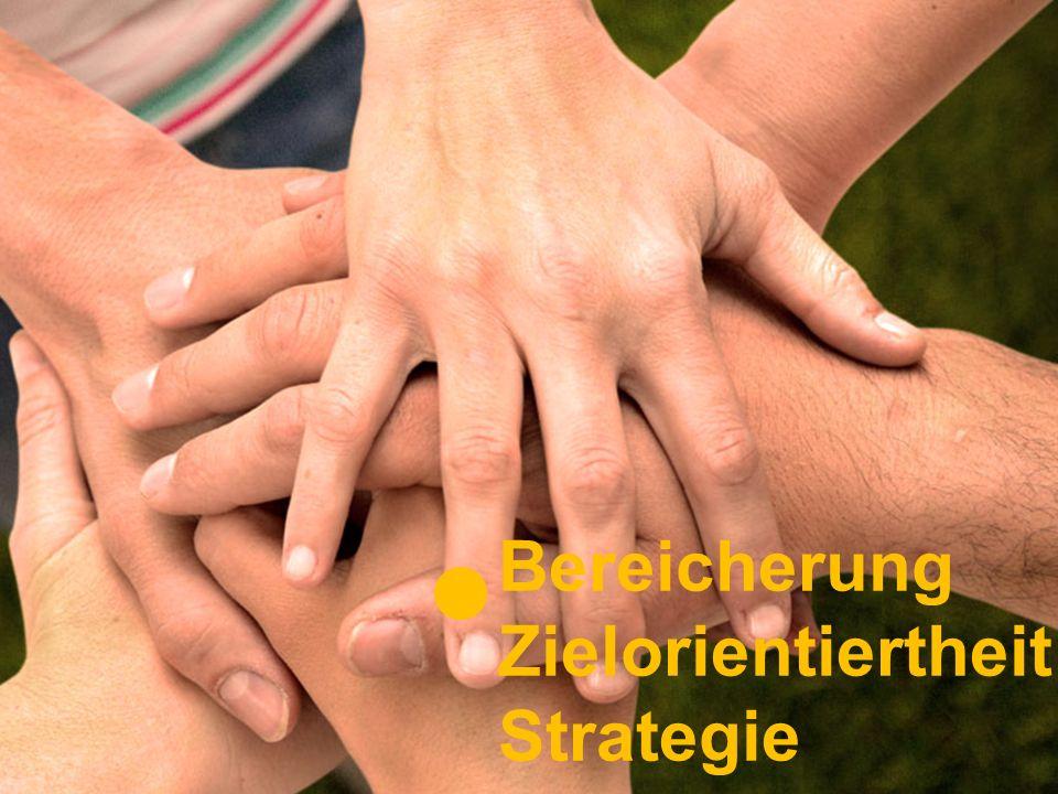 Bereicherung Zielorientiertheit Strategie